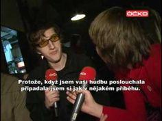 A/A/S interview, Prague, Czech Republic, Jan. 2010. #armsandsleepers #Prague #Czech #interview #music #live
