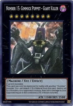 | Yu-Gi-Oh! Cards | solomon333 Created Cards yugioh zexal - Number ...