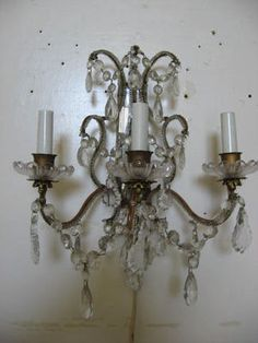 Kitchen wall sconce wall lights & sconces,foyer sconces lowes sconces,modern bathroom ceiling light fixtures wall lights for drawing room. Vintage Wall Sconces, Rustic Wall Sconces, Candle Wall Sconces, Rustic Light Fixtures, Rustic Lighting, Crystal Sconce, Crystal Chandeliers, All Of The Lights, Bedside Lighting
