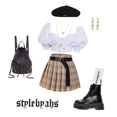 Lol if u think the fact it's 2 degrees outside will stop me from wearing mini skirts 🙃🙃 a hoe don't get cold baby skirt skirt skirt skirt outfit skirt for teens midi skirt Grunge Outfits, Kpop Fashion Outfits, Stage Outfits, Edgy Outfits, Aesthetic Fashion, Aesthetic Clothes, Look Fashion, Korean Fashion, Womens Fashion