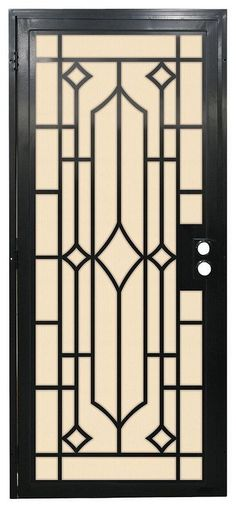 20+ Iron Security Door Ideas With Beautiful Design You Can Use For Your Home