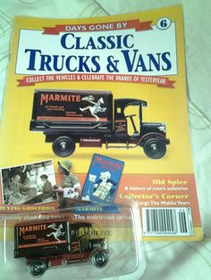 Magazine and packaged model.Have more from collection listed, will combine the postage. Marmite, Classic Trucks, Diecast, Old Things, Vans, Magazine, Vehicles, Model, Ebay