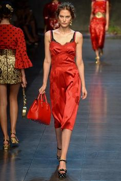 Dolce & Gabbana Spring 2014 Ready-to-Wear Collection Slideshow on Style.com#2