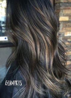 Dark ash brown hair google search pinteres summer 2017 hair dark brown base with ash blonde bayalage pmusecretfo Choice Image