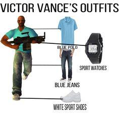 Victor Vance, GTA Liberty City Stories #gta #outfits #vance