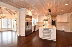 LOVE THE WAY THE CEILINGS ARE ... CHECK THE INTERIORS FOR MORE IDEAS ... Check out this home I found on Realtor.com. Follow Realtor.com on Pinterest: http://pinterest.com/realtordotcomg
