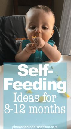 Self-Feeding ideas for Month Olds - Pinecones and Pacifiers. food Self-Feeding ideas for Month Olds - Pinecones and Pacifiers Baby First Foods, Baby Finger Foods, Finger Foods For Toddlers, Baby First Solid Food, Baby Led Weaning First Foods, Graco Baby, 11 Month Old Baby, 10 Month Old Food, 10 Month Old Schedule