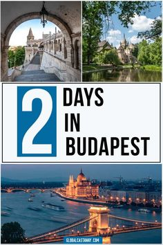 Fancy travel to Budapest? Find out how to get the best out of your 2 days in Budapest with this ultimate Budapest itinerary guide European Travel Tips, European Destination, Travel Europe, Budapest Travel Guide, Best Airfare, Budapest City, Hungary Travel, Europe Holidays, By Train