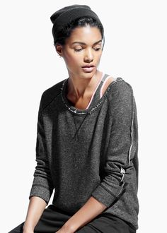 Yoga - Relaxed plush sweatshirt