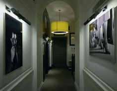 Small Rooms, Dark Colors at the Portrait Suites Hotel