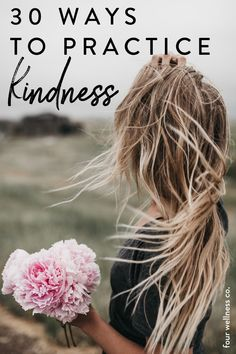 Besides being nice for others to receive, acts of kindness are actually good for your own health and well-being!Here are 30 ways you can brighten someone else's day, both ideas for people you know, and random acts of kindness for a lucky stranger! Click to learn how to practice kindness. | Millennial Lifestyle Tips | Healthy Living | Healthy Lifestyle | Health Hacks | Wellness Tip | Personal Growth | Mental Health | Self Care | Four Wellness Co. Women's Health, Health Coach, How To Treat Pcos, Mental Health Benefits, Small Acts Of Kindness, Overcoming Anxiety, Family Planning, Healthy Lifestyle Tips, Random Acts