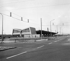 Örs Vezér téri metró végállomás, fogadóépület - 1970