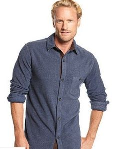 Save 87% on Tasso Elba Big and Tall Corded Fleece Shirt Jacket at Macy's