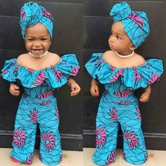 african dress styles Most of us decide on african ankara dresses that provide us with freedom and comfort to decree around. Ankara styles for weekends arrive in many patterns and d Baby African Clothes, African Dresses For Kids, African Babies, African Children, African Print Dresses, African Print Fashion, African Dress Designs, Cute Kids Fashion, Baby Girl Fashion