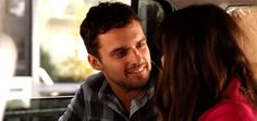 Pin for Later: 50 Reasons You Can't Stop Crushing on Nick Miller He Makes Swoon-Worthy Eye Contact