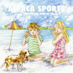 Alpaca Sports: When You Need Me The Most - cover artwork