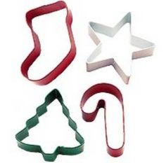 Wilton Jolly Shapes 4Piece Color Metal Cookie Cutter Set >>> Want to know more, click on the image.Note:It is affiliate link to Amazon.