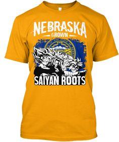 Super Saiyan Short Sleeve Shirt - FOR NEBRASKA FANS - TS00166SS