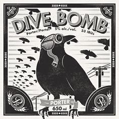 Powell Street Craft Brewery Dive Bomb Porter