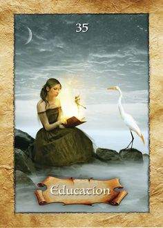 35 Education, The Enchanted Map, Colette Baron-Reid