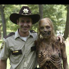Rick and Bike Zombie.