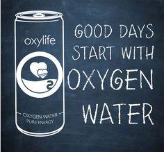 Oxylife oxygenated water from czech republic. Kyslikova voda Oxylife smart water
