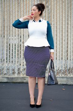 Office Stripes.. I want to marry this outfit!!! @Tanesha Awasthi
