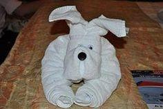 DIY Fold a Towel Dog DIY Origami DIY Craft