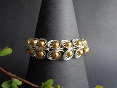 Egyptian Bracelet, Pearls Bracelet, Wire Wrapped Bracelet, , Handmade by Iris Jewelry Creations