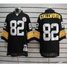 7ec127294 Mitchell And Ness Steelers John Stallworth Black Stitched NFL Jersey