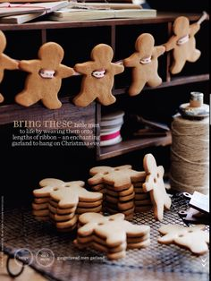 Gingerbread Man Garland - Donna Hay
