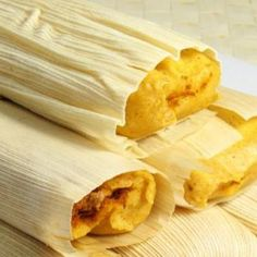 A pork tamale recipe in lovely husks of corn.. Authentic Pork Tamales Recipe from Grandmothers Kitchen.