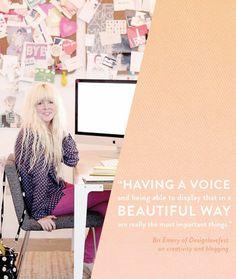 Best Design Job: Bri Emery Quote on Creativity