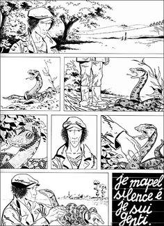 Silence, by Comès.