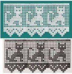 Hermosas cortinas y cenefas hechas en crochet y ganchillo Una hermosa colección de cenefas tejidas al crochet, para decorar tus ventanas y dar ese toque romántico que estás buscando. Delicadeza y