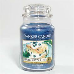 Yankee Candle Blueberry Scone, 22 oz large jar candle