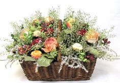 Fall Floral Arrangement by summersweetboutique, $60.00