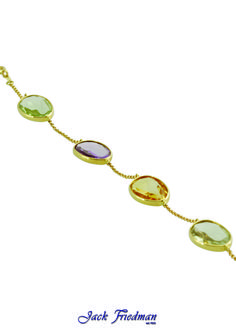 Gemstone bracelet jackfriedman.co.za Multi Coloured Rings, Color Ring, Necklaces, Bracelets, Ring Earrings, Pendants, Rainbow, Gemstones, Gold