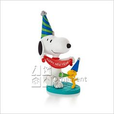 2013 Peanuts Monthly Series 6th Snoopy New Year's Celebration