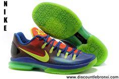 edc443493795 Low Price Nike KD V Elite 585386-082 Blue to Red Gradient Volt EYBL Latest