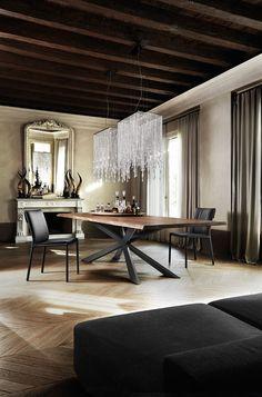 Table Skorpio Wood - meubles en Belgique  - Selection Meubles, Amougies, mobilier