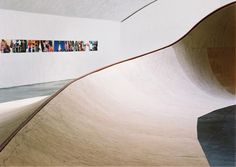 SKATEABLE SCULPTURE BY RICH HOLLAND
