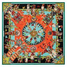 Le carré Hermès http://www.rendezvousenfrance.com/ #mode #shopping