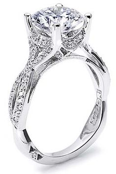 Tacori ring style #2565RD9/ Available exclusively at Lyle Husar Designs Brookfield, WI