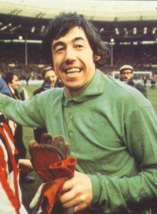 Gordon Banks. Best English Goal Keeper, world cup winner 1966