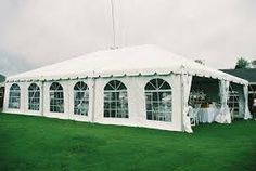 40 X 60 tent with window tent sides