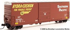 ExactRail N Scale 50' PC&F 6033 Hy-Cube Boxcars at BLW.
