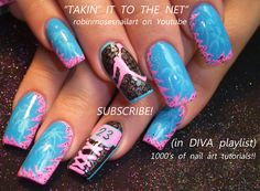 Robin Moses Air Jordan pink nails  http://www.youtube.com/watch?v=zqTnZLHkNXQ