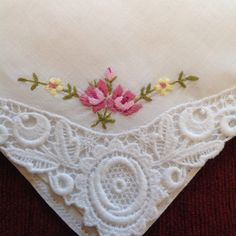 A personal favourite from my Etsy shop https://www.etsy.com/listing/237266795/vintage-handkerchief-ideal-for-special