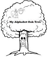Flight to Neverland: My Alphabet Oak Tree